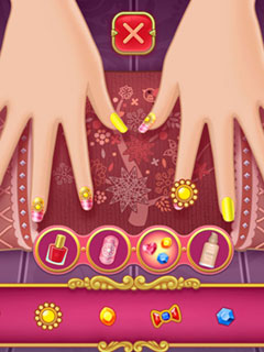 Image Nail Salon - Marie's Girl Games